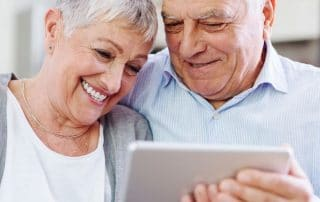 older people using technology